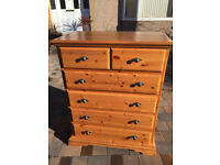 Large Chest of drawer , feel free to view .£195 Size W 36 in D 20 in H 45 in Free local delivery.