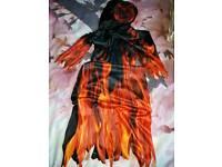 Brand new!! Dress up demon costume age 6