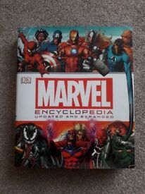 Marvel Encyclopedia Book & Top Trumps Game