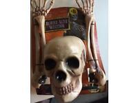 Halloween Buried alive skeleton