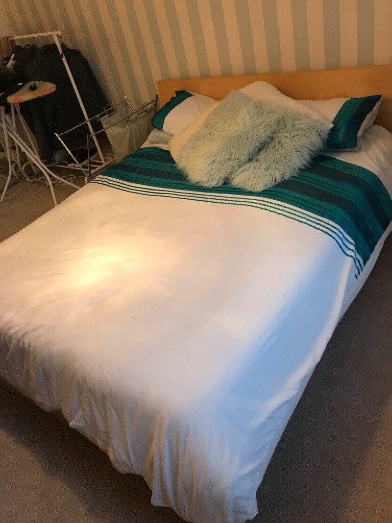 ikea malm king size bed  in baberton edinburgh  gumtree