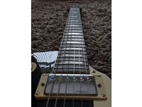 Vintage v100 Les Paul Guitar (gloss black)