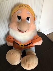 Mr Happy Disney toy excellent condition