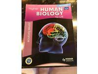 Higher Biology text book SQA