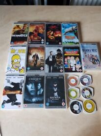 Psp films and games big bundle from smoke free house