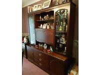 Mahogany Sideboard Unit & Drinks Cabinet
