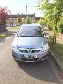 Vauxhall Zafira Breeze 58 plate 1.9 diesel turbo