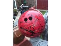 Marble Amflite bowling ball