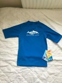 BNWT Boys Swim Shorts and Top