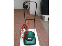 Qualcast Electric Lawn Mower, Full Working Order, Easy To Use, Great Maneuverability.