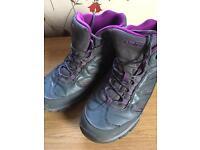 Hi-tec walking boots, size 6