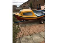 13ft boat and trailer