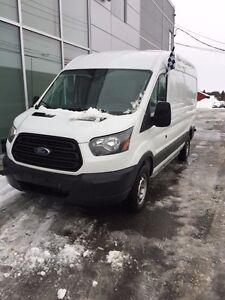 2016 Ford Transit Cargo Van MEDIUM ROOF/148''/T250