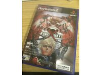 Guilty gear x ps2 game used