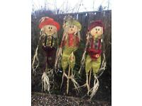 5ft tall jumbo scarecrow garden ornament