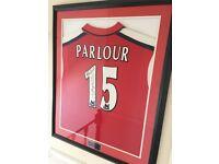 Arsenal Match Worn Ray Parlour Shirt