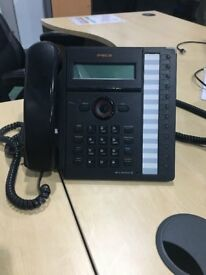 Office Telephone, answer machine, transfer of calls and call waiting functions. 18 available