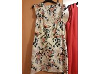 Ladies Floral Print Summer Dress - Size 12