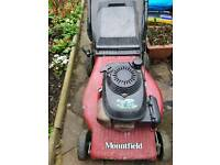 Mauntfield lawnmower