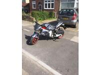 Gilera dna 180 grey and red. 750 ONO