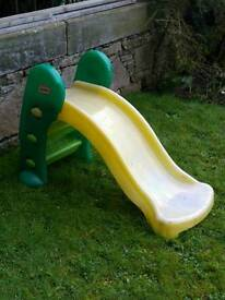 Little tikes shute slide
