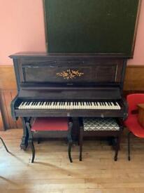 Arthur Allison upright piano