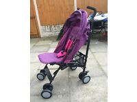Girls pushchair only used for a week 60 pound