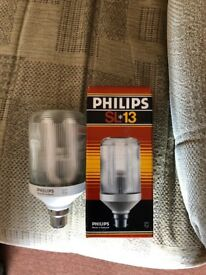 Phillips Lighting Prismatic Energy Saving Lamps (12 No)