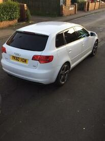 Audi A3 Black Edition S Line STronic 170BHP