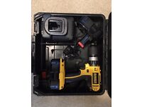 Dewalt DC725 18v Cordless Drill with Spare Battery
