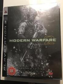 PS3 Modern Warfare 2 (Hardened Edition)