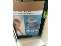 Baby walker and Highchair - open to offers just want gone!