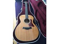 TAYLOR 314 GRAND AUDITORIUM ACOUSTIC GUITAR - REDUCED FROM £825.
