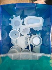 Wax or Resin moulds and Business stock