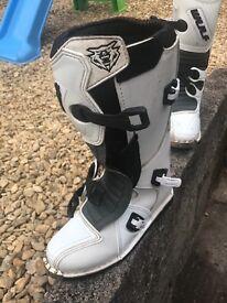 Wulf sport moto x boots