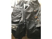 1pair of brand new scruffs 3D pro work trousers