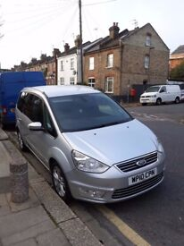 Ford Galaxy 2.0 Eco boost People Carrier Automatic Silver 2010 Good Condition