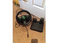Xbox pedals and steering wheels
