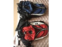 Rucksack, small and lightweight, ideal for runner, cyclist, or day hikes.