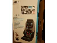 HoMedics Shiatsu Max 2.0 back & shoulder massager with heat.