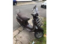 2010 Vespa LX50 Touring for sale - parts only (will not pass MOT) UPDATED