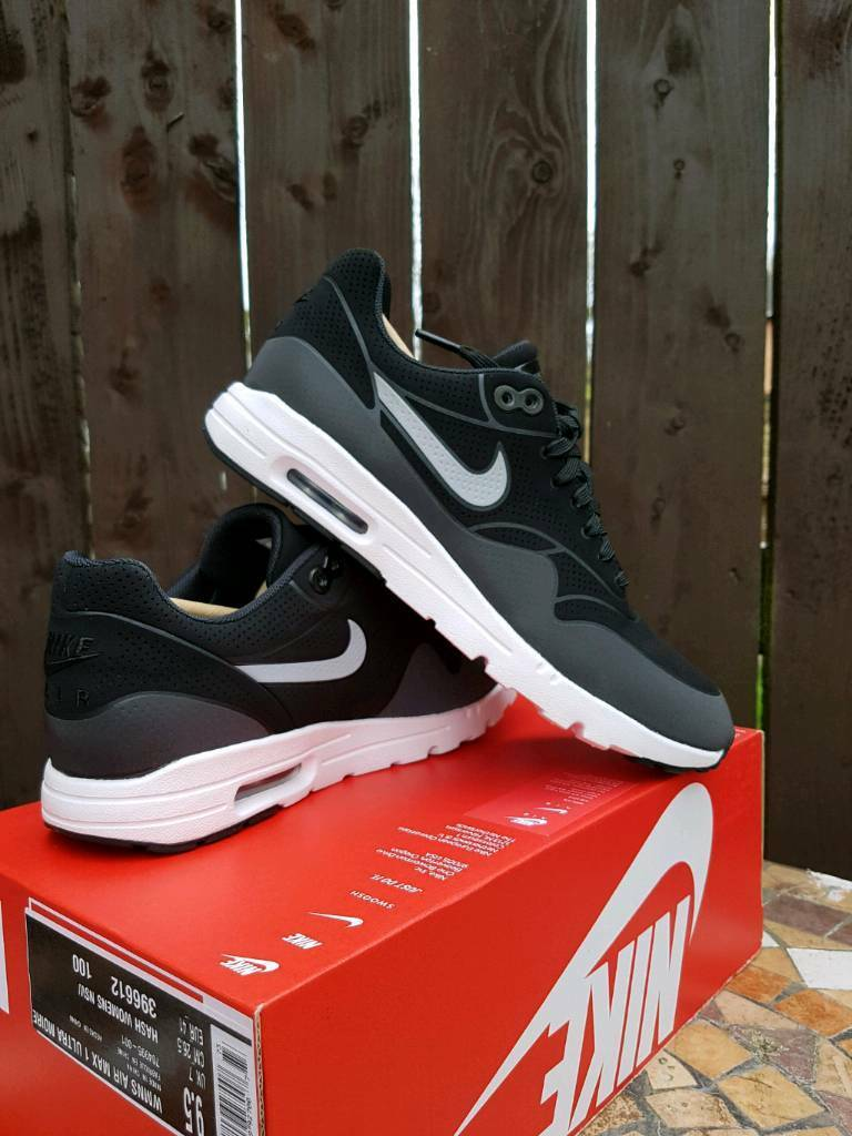 uk availability a51f7 a89e3 WOMEN S NIKE AIR MAX 1 ULTRA MOIRE SIZE 7