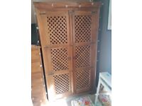 Indonesian Wooden Linen Cupboard - Collection only