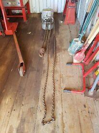 Morris 1 T Electric Chain Lift