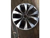 BMW X5 alloy wheels (2 alloys)