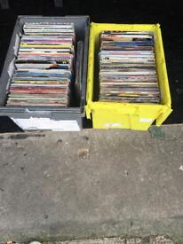 Record collection job lot