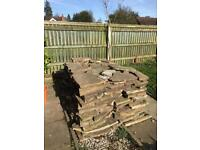 Yorkshire Stone Crazy Paving For Sale £10 Square Foot