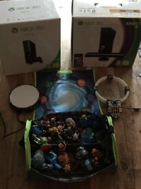 Xbox 360 x 2 and loads of games
