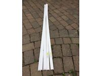 Tower PVC channelling 2M lengths 25mm ( x 9 )