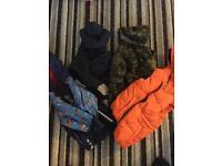 4 kids boy coats